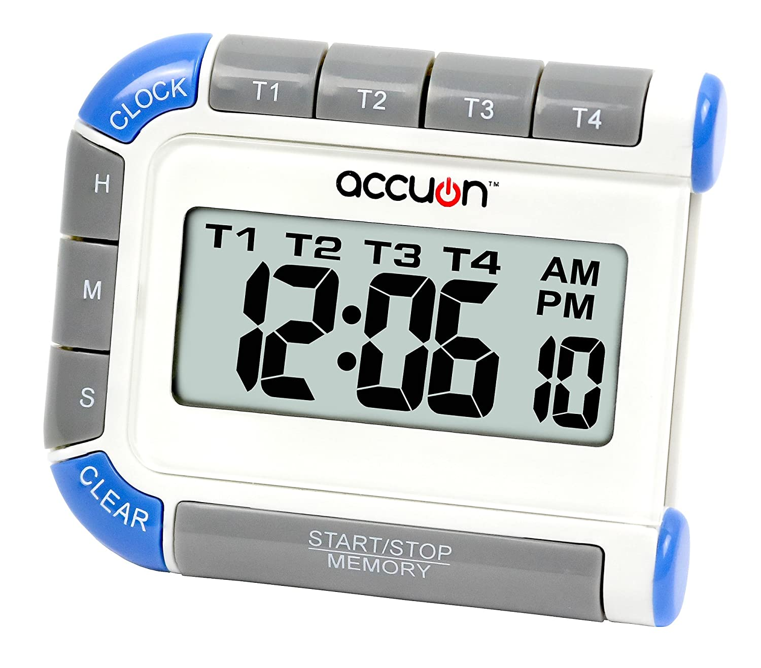 Accuon Digital 4 Channel Timer and Clock ACU0201