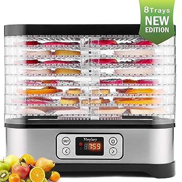 Hopekings Deshidratador de Alimentos 8 Pisos, Deshidratador de Frutas y Verduras 400W con Temporizador hasta 72h: Amazon.es: Hogar