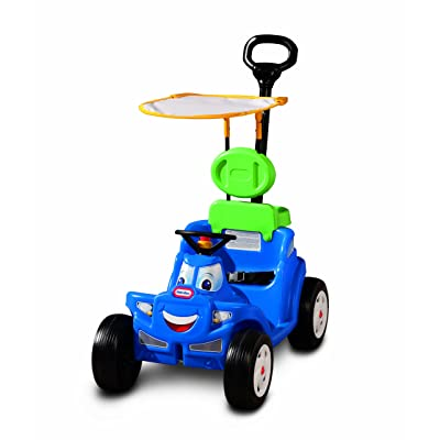 Little Tikes Deluxe 2-in-1 Cozy Roadster: Toys & Games