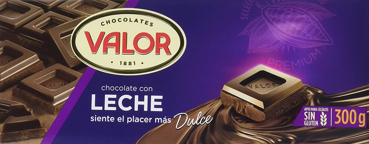 Valor Chocolate con Leche - 300 g: Amazon.es: Amazon Pantry