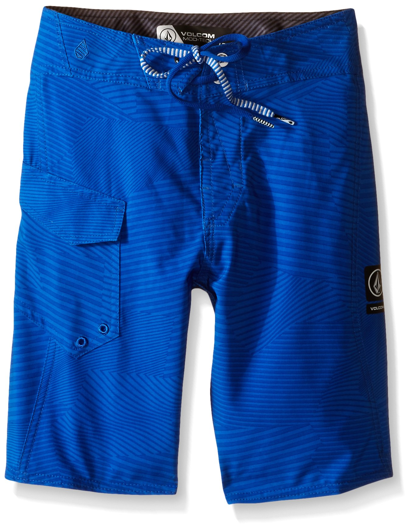 Volcom Big Boys' Stone Mod Boardshort, Estate Blue, 27