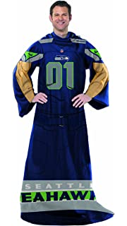 The Northwest Company NFL Seattle Seahawks Full Body Player Adult Comfy  Throw bba1dee60c88