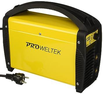 Proweltek PR1002 - Pw soldadora inverter 130: Amazon.es: Bricolaje y herramientas