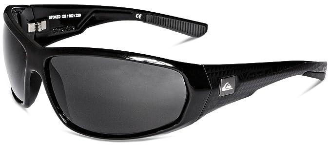 Quiksilver stoked gafas de sol/gris talla única negro/gris ...