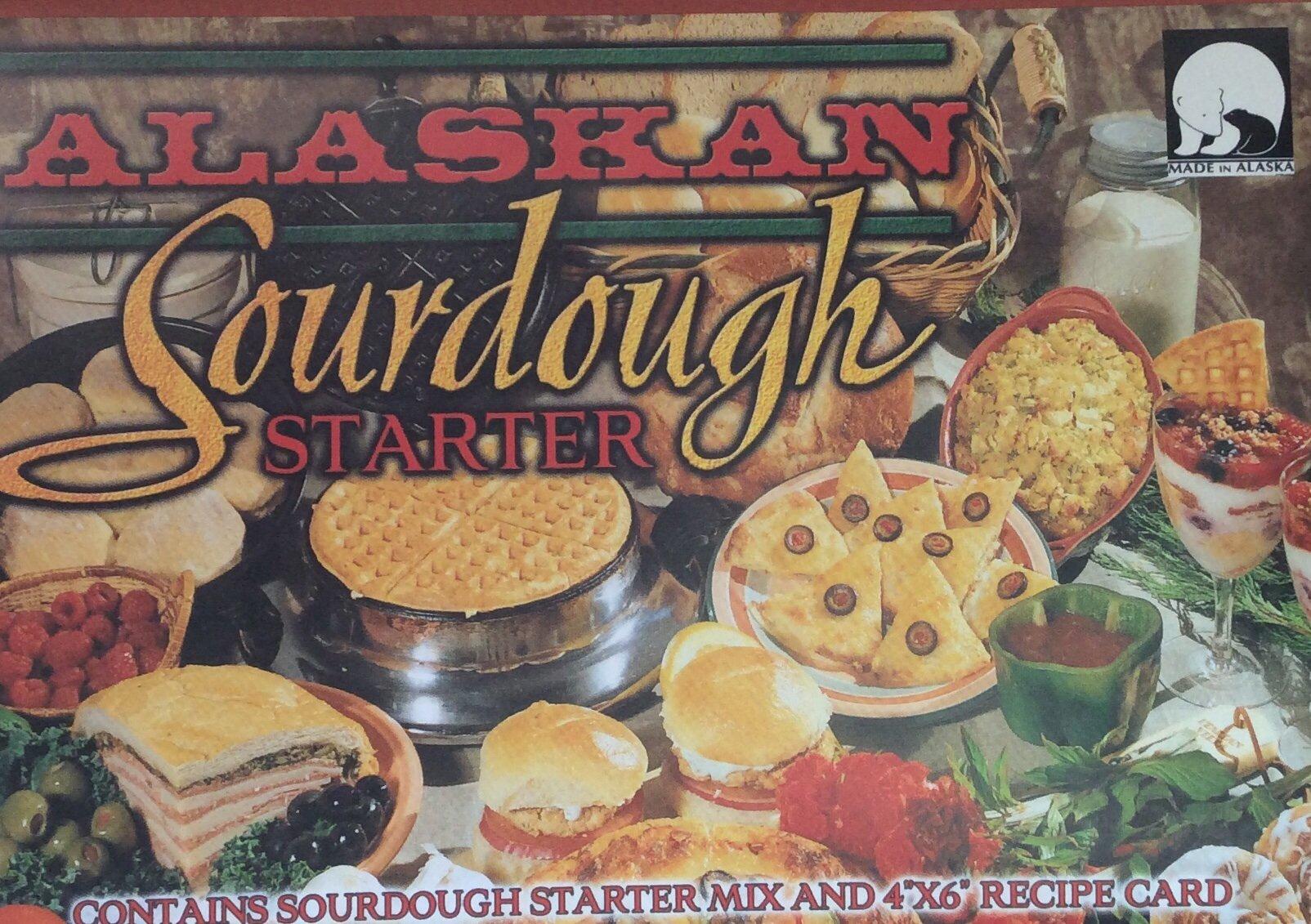 "Alaskan Sourdough Starter "" Made in Alaska """