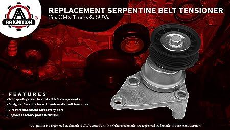 Belt Tensioner Assembly for Silverado Sierra 4.3 4.8 5.3 6.0 99-08 OEM 88929140