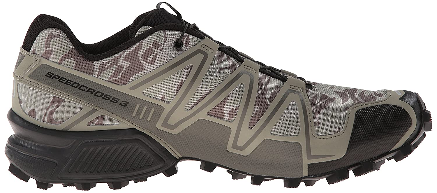 newest 9d2b9 79b7a norway salomon speedcross 3 herren traillaufschuhe grau camo titanium dark  titanium swamp 40 2 3 eu