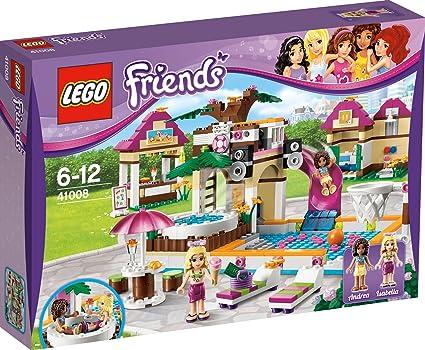 Amazon.com: LEGO Friends las niñas Heartlake City piscina ...