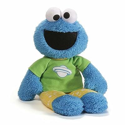 GUND Sesame Street Cookie Monster Pajama Pal Stuffed Toy Plush: Toys & Games