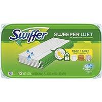 Swiffer Toallitas Húmedas de Respuesto para Limpiador de Suelos, paquete con 6 unidades