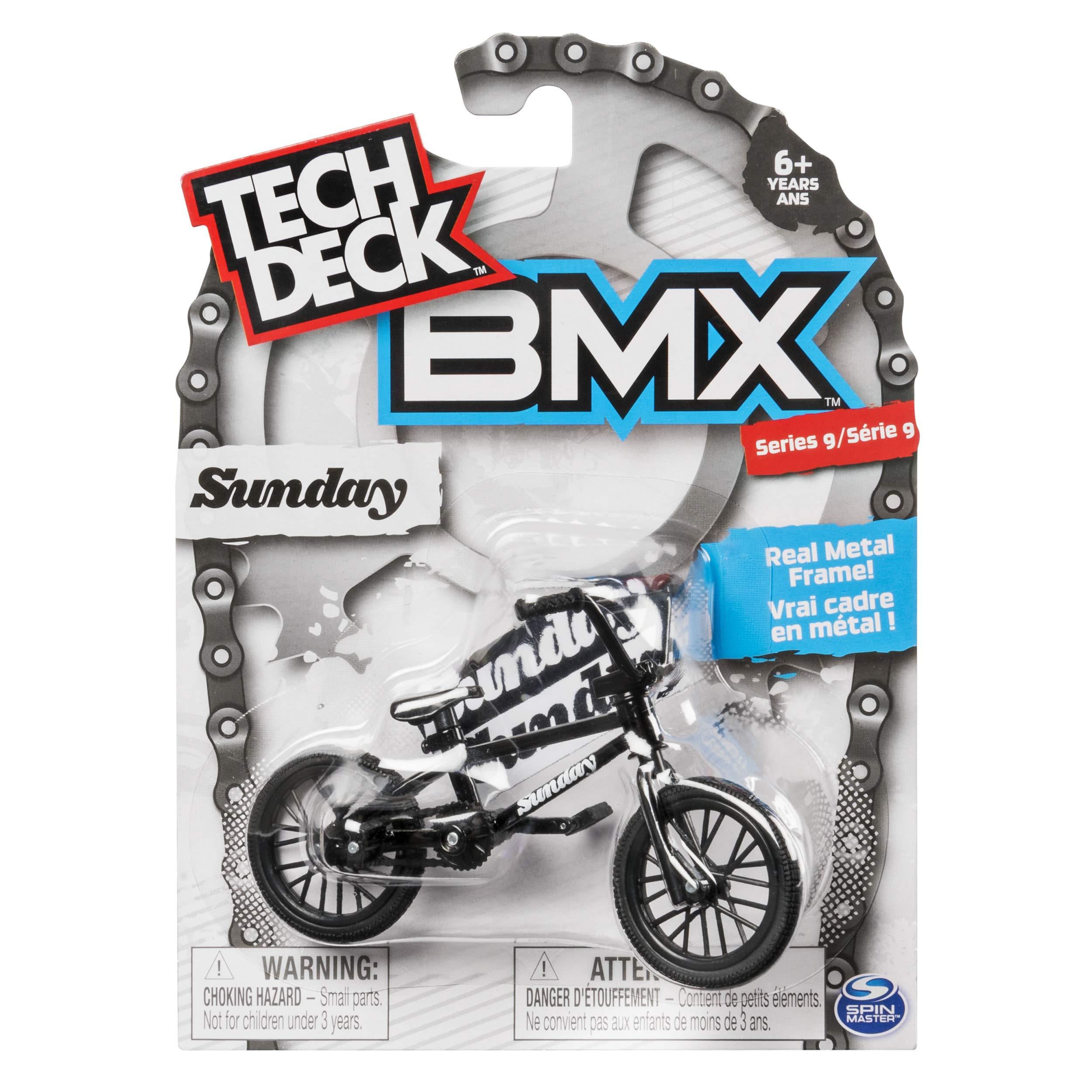 Tech Deck BMX Series 9 Sunday Black Finger Bike - 20103166