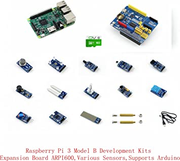 Venel Electronic Component, Raspberry Pi 3 Model B Package D, with ...