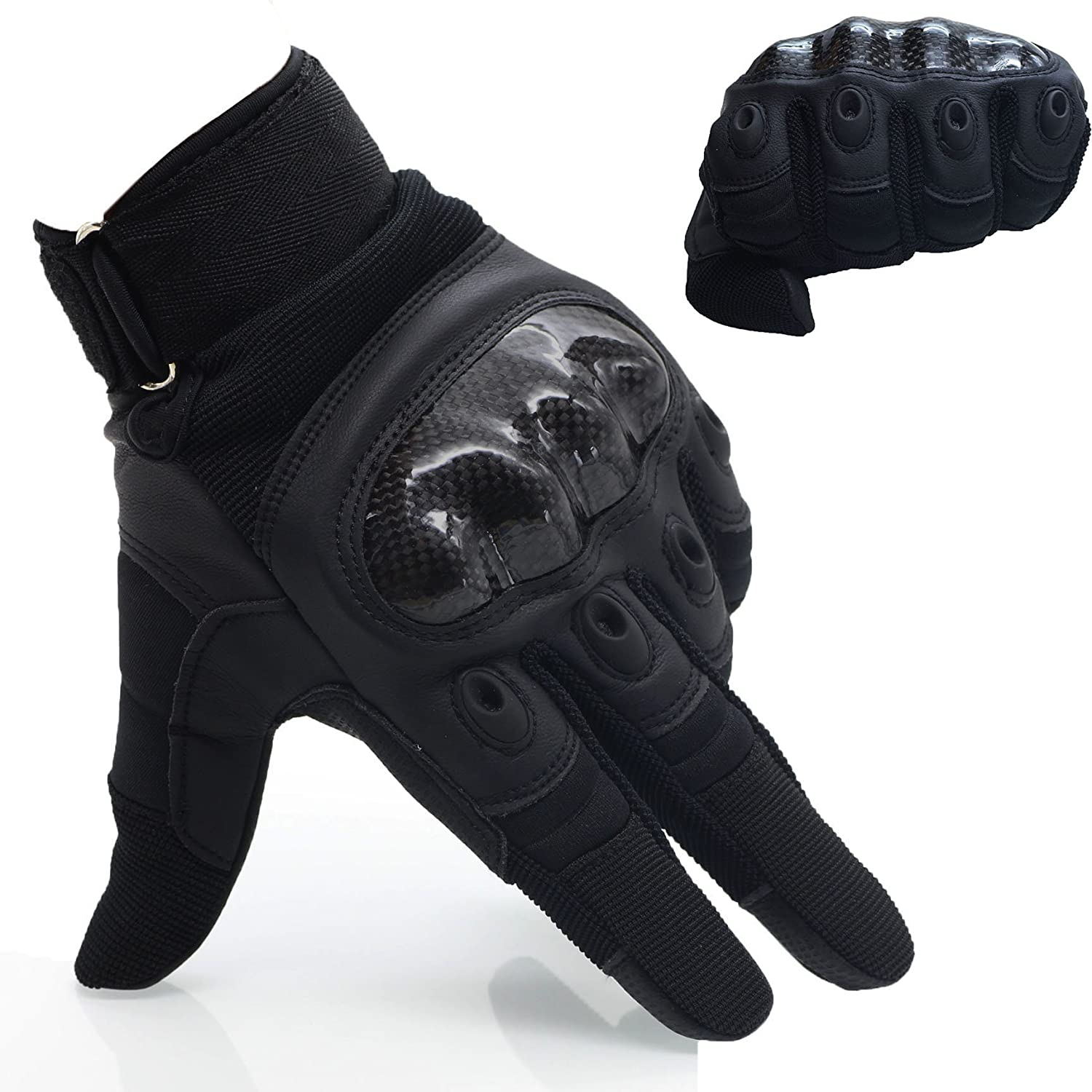 Omgai Upgraded Full Finger Motorcycle Gloves