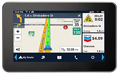 "Magellan RoadMate RV9490T-LMB 7"" High-clarity RV GPS Navigator"