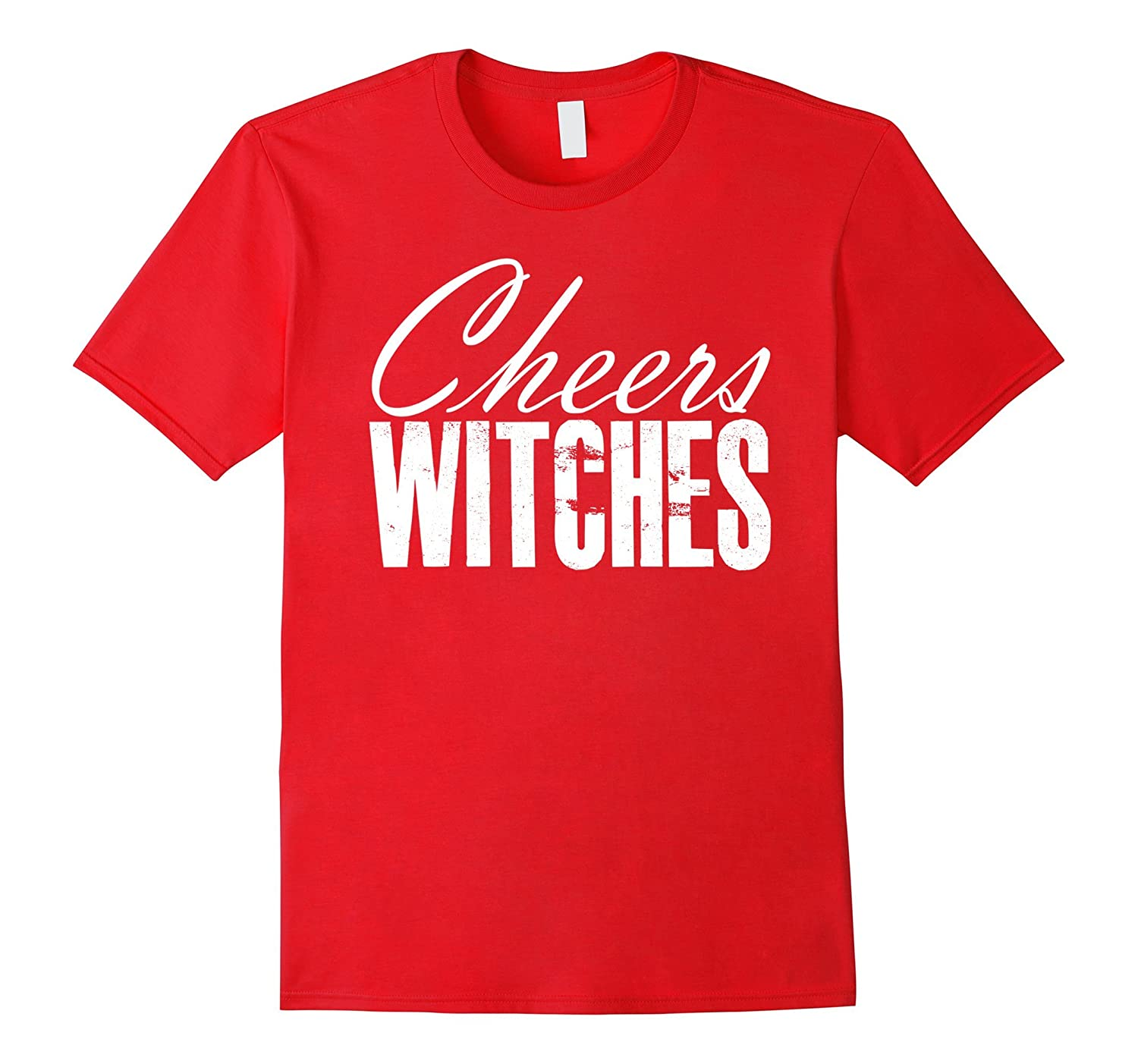 Cheers Witches Halloween Bachelorette Costume T_Shirt-FL