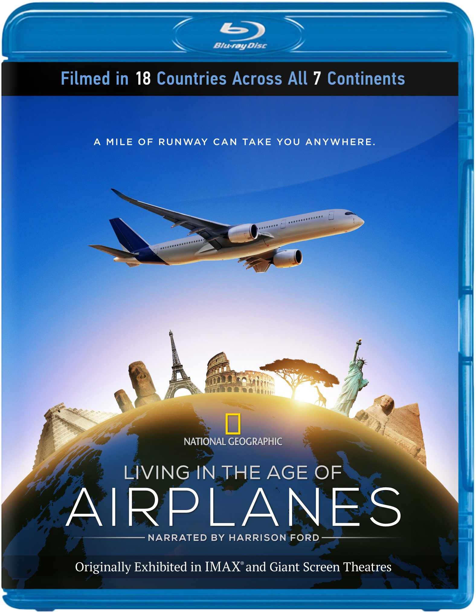 Living in the Age of Airplanes [Blu-ray]