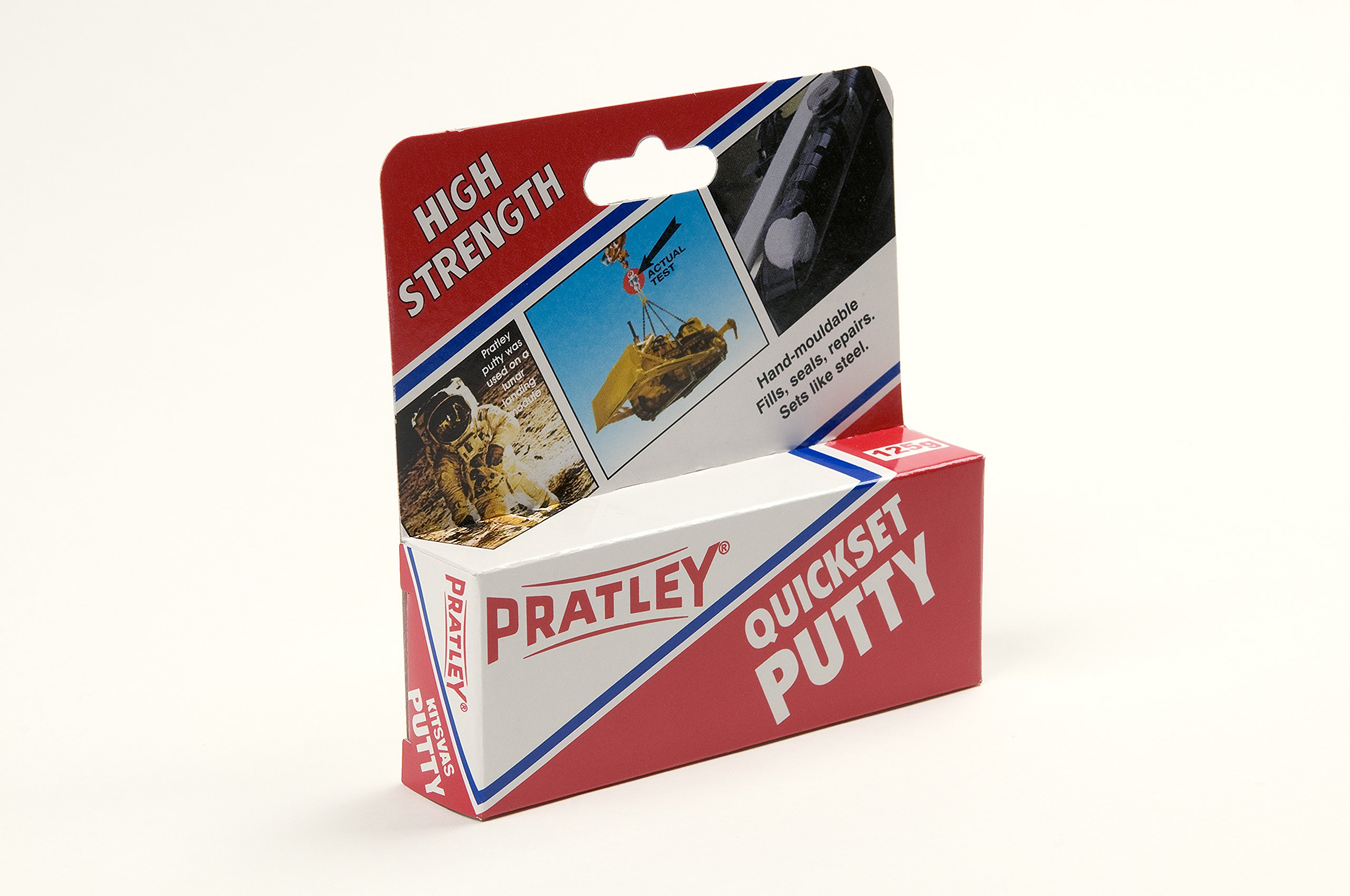 10 x Pratley Quick Set Adhesive Epoxy Putty 125g / 4.4 ounces 84135 New by Pratley