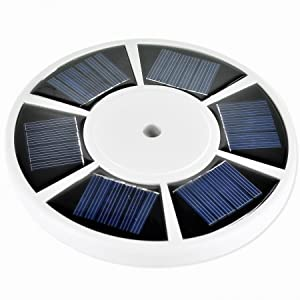 Sunnytech Solar Power Flag Pole Flagpole Light Auto Active Green Energy Factory Direct Supply