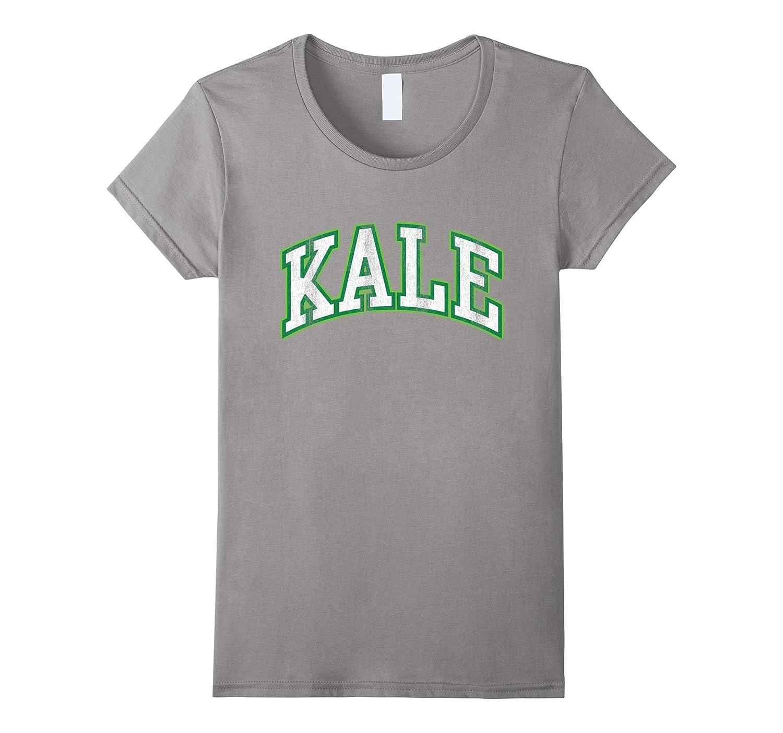 Kale University Vegan Vegetarian Funny Parody T-Shirt