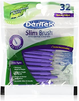 DenTek 32 Count Slim Professional Interdental Cleaners Brush