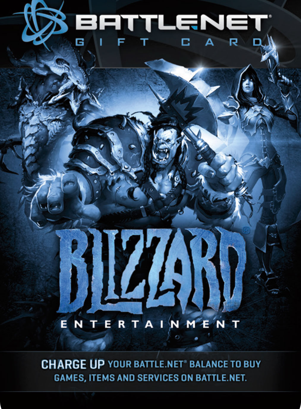 $20 Battle.net Store Gift Card Balance - Blizzard Entertainment [Digital Code] [Online Game - Card Entertainment