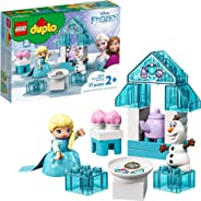 LEGO DUPLO Disney Frozen Toy Featuring Elsa and Olaf's Tea Party 10920 Disney Frozen Gift for Kids and Toddlers, New 2020 (1
