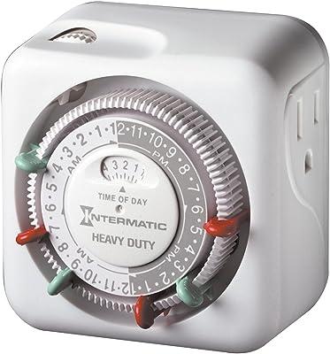 Intermatic TN311 15 Amp Timer for Indoor Lights