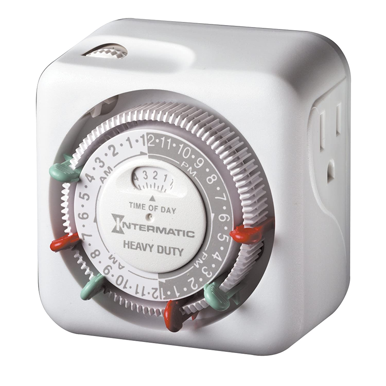 Setting Outdoor Light Timer: Intermatic TN311 15 Amp Heavy Duty Grounded Timer - Light Timer - Amazon.com,Lighting