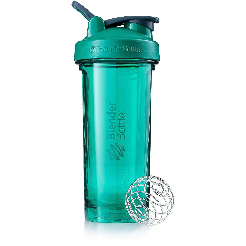 BlenderBottle Pro Series Shaker Bottle, 28-Ounce, Emerald Green