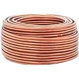 2,5mm² | anillo de 10m | DCSK HiFi Cable para altavoces | 99,99% OFC cobre puro | transparente |