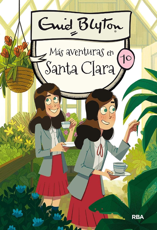 Más aventuras en Santa Clara: Santa Clara 10 eBook: Blyton, Enid ...