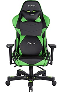 Clutch Chairz Crank Series Charlie Gaming Chair (Black/Green)