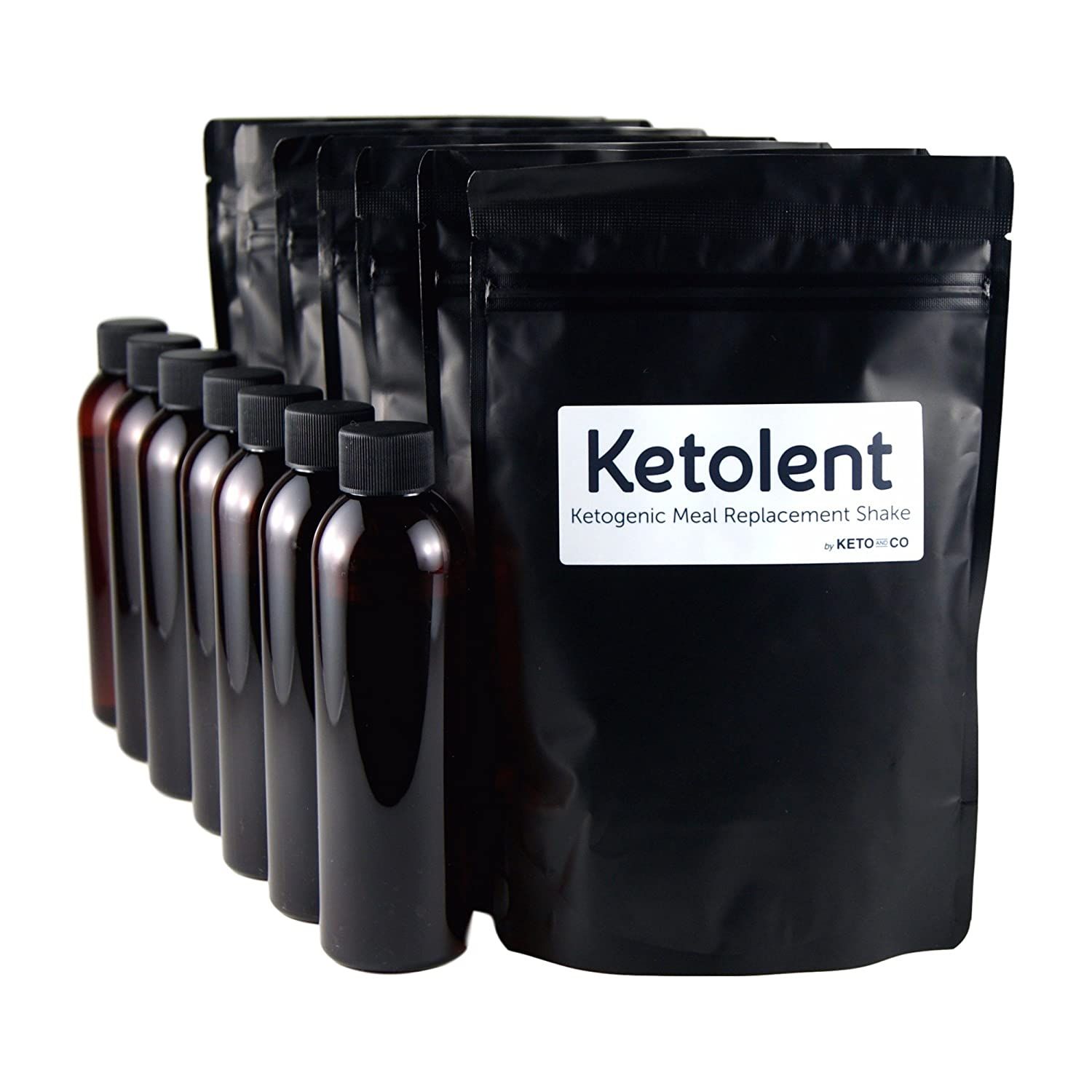 Ketolent nutritionally complete ketogenic low carb shake (Chocolate - 35 Meals)