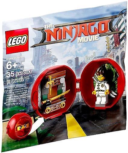 Amazon.com: LEGO 5004916 The LEGO Ninjago Movie Kai's Dojo Pod: Toys ...