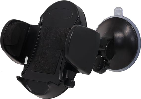 Bigben Connected Support Voiture Universel Noir avec Syst/éme de Fixation /à la Grille da/ération