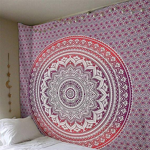 Amazon.com: SDAHY Mandala Tapestry Indian Elephant Tapestry Forest Bohemian Tapestry Wall Tapestry Wall Hanging Tapiz Pared Mandala Wall Hanging 15 ...