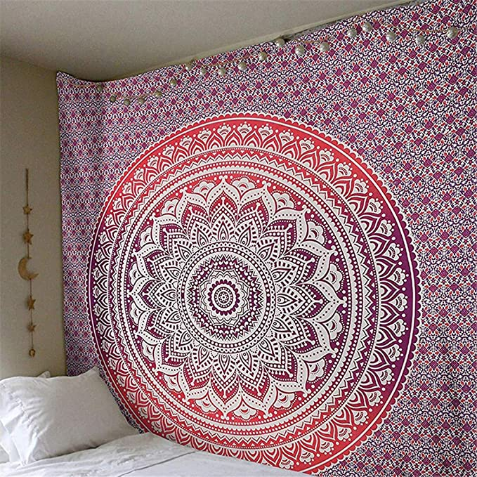 Amazon.com: SDAHY Mandala Tapestry Indian Elephant Tapestry Forest Bohemian Tapestry Wall Tapestry Wall Hanging Tapiz Pared Mandala Wall Hanging 8 ...