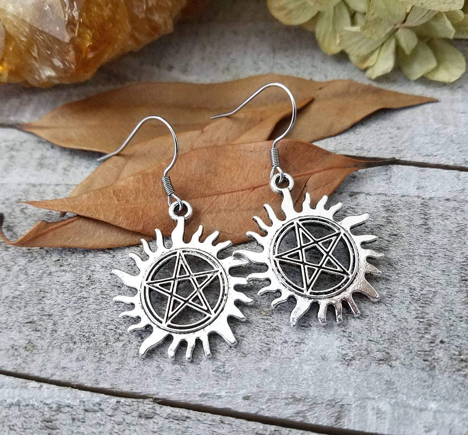 THE ORIGINAL Supernatural Anti possession sigil earrings