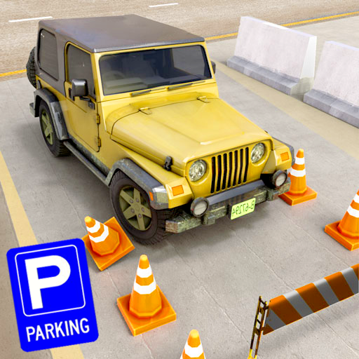 US Jeep Car Parking Game Academy : Real Car Top Drives & Parking Driveway King Challenge Simulator Best Free Games (Best Car Parking Games)