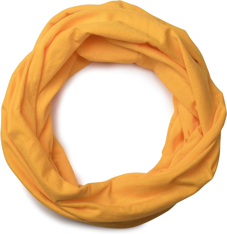 styleBREAKER foulard multifunzione in jersey sciarpa scaldacollo sciarpa ad anello foulard copricapo fascia per capelli fascia frontale unisex 01012037