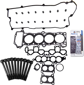 Head Gasket Set Bolt Kit Fits 07-12 Nissan Sentra SE-R 2.5L DOHC 16v QR25DE
