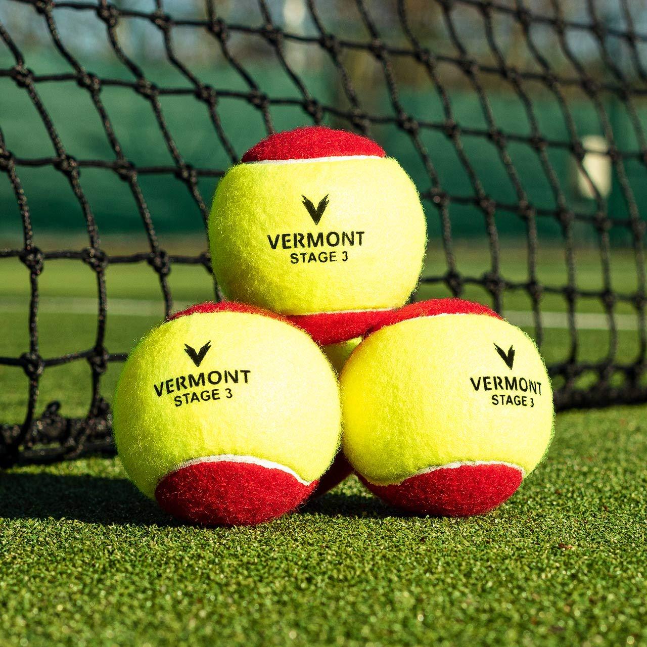 Vermont Pelota de Tenis Cubos   Pelotas de Tenis Entrenamiento A ...