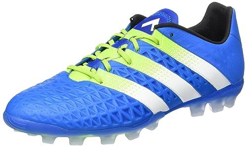 the best attitude 909fe 54644 ... clearance adidas ace 16.1 ag zapatillas de deporte interior para hombre  azul verde blanco azuimp seliso