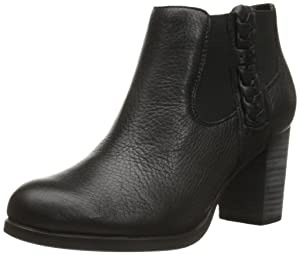 Sperry Top-Sider Women's Dasher Leah Boot, Black, 7.5 M US
