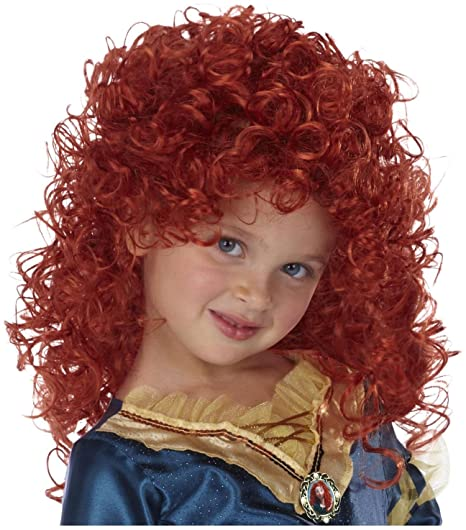 Amazon Com Disney Princess Merida Wig Toys Games