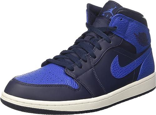 Nike Air Jordan 1 Mid, Zapatos de Baloncesto para Hombre: Amazon ...