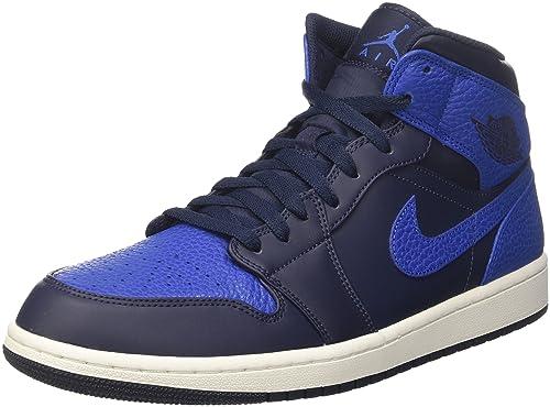 quality design fc757 e2947 Nike Air Jordan 1 Mid, Zapatos de Baloncesto para Hombre  Amazon.es  Zapatos  y complementos