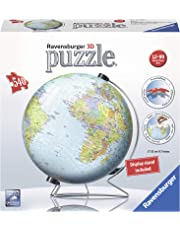 Ravensburger The World on V-Stand Globe 540 pc 3D Jigsaw Puzzle
