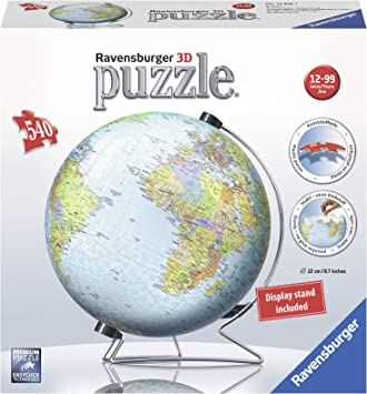 Ravensburver puzzle ball, globe, 540