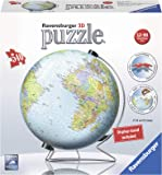 Ravensburger The Earth 540 Piece 3D Jigsaw Puzzle for Kids and Adults - Easy Click Technology Means Pieces Fit Together Perfectly